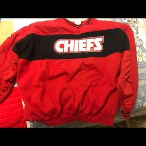 NFL Sweaters - Retro Chiefs Sweatshirt